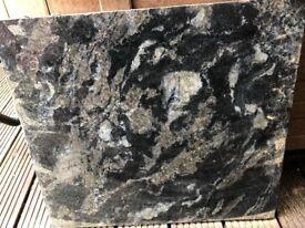 Cosmic black granit worktops