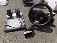 Logtiech Driving Force GT with shifter