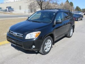 2007 Toyota RAV4 Sport V6~LEATHER ~ SUNROOF ~ AWD ~