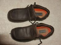 MENS BROWN LEATHER SHOES FOR SALE