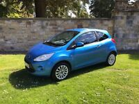 2009 Ford Ka 1.2 Zetec, 73k miles, Immaculate, 1Yr MOT, Serviced, FSH, Valeted, New T.Belt, £30 Tax