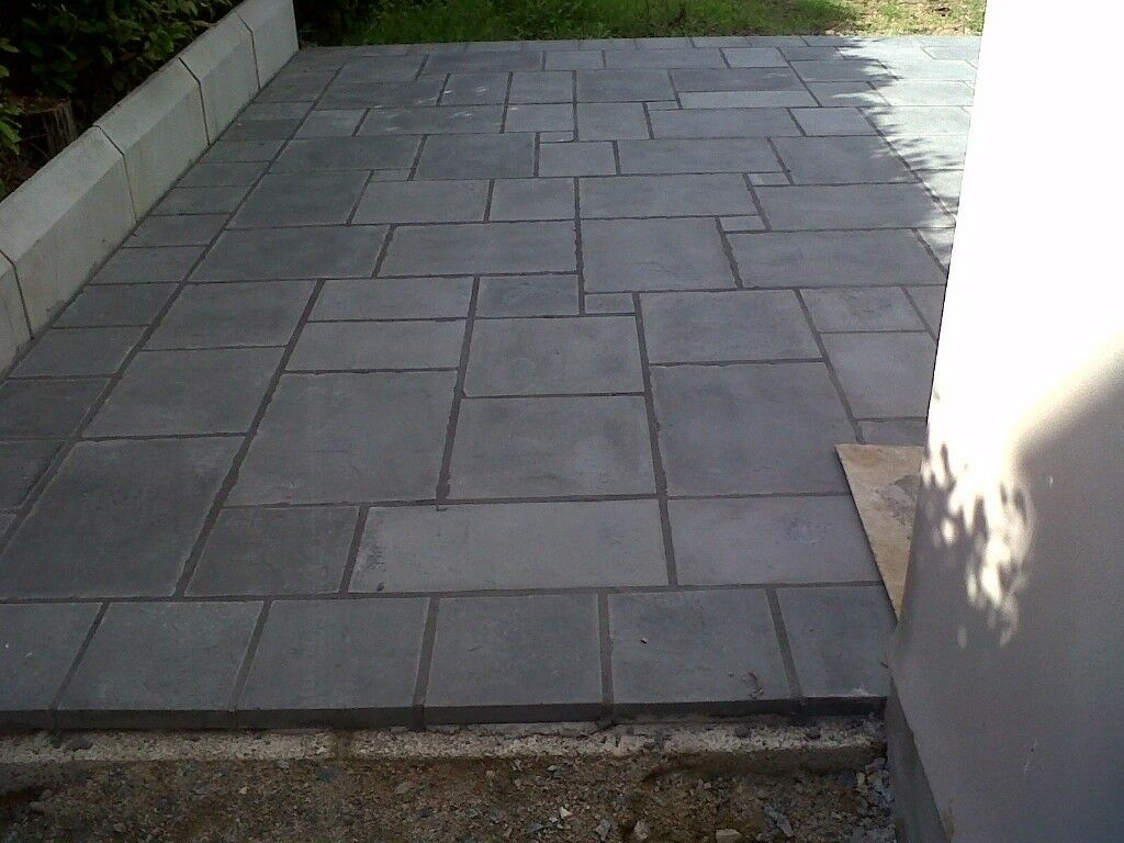 Indian Stone Flags >> 30 square meters of charcoal paving delivered anywhere in ...