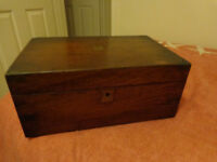 victorian travelling writing box