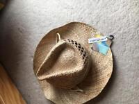 Unused quality straw hat