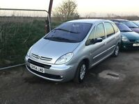 54reg CITREON Picasso diesel in vgcondition unmarked interior any trial welcome px considered