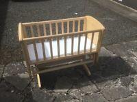 Babies cradle as new
