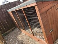 Dog kennel 10ft x 4ft