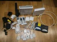 Job lot ( modems, phones, phone cables, splitter)