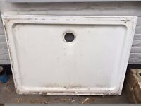 Shallow low profile shower tray - comes with legs. Collect for free!