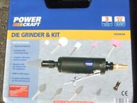 POWER CRAFT Die Grinder Kit new
