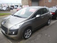 Great looking Peugeot 3008 Sport HDI,1560 cc 5 dr hatchback,rare Auto,1 previous owner,FSH,great mpg