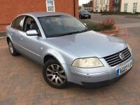 VW PASSAT 1.9 TDI DIESEL AUTOMATIC LOW MILEAGE 2003/03 REG