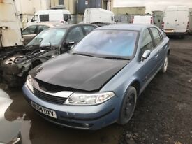 Renault Laguna petrol automatic gearbox spare parts breaking
