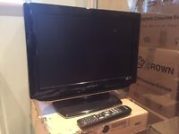 9 DMTech LV19XTM HD Ready Digital Freeview LCD TV DVD Combination, Sells for 149 Sterling