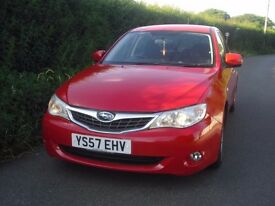 Subaru Impreza automatic very low mileage only 41000 miles
