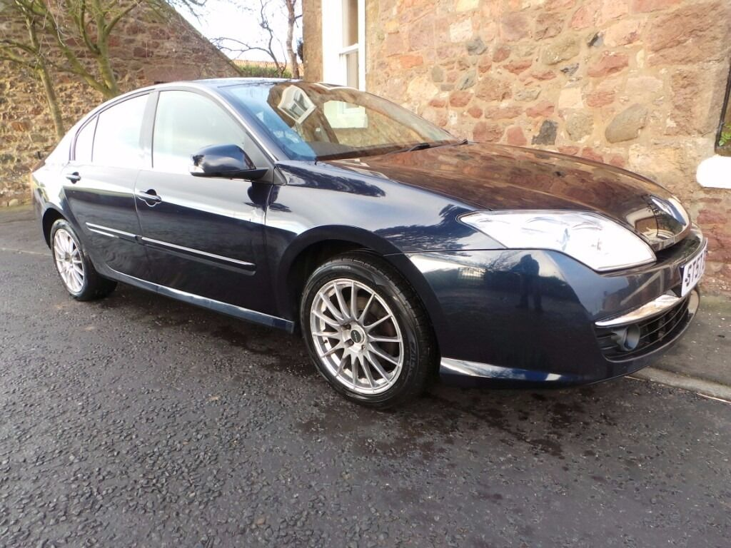 Renault Laguna 1.5 DCI Dynamique 2007, half leather, cruise control, regularly serviced