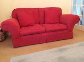 Marks and Spencer's three piece sofa