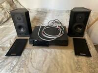 Hifi system - tannoy speakers & amp