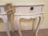 French style bedside tables