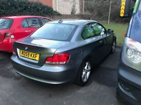 BMW 1 series coupe, immaculate condition, 2 owners from new