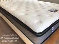 🍁 £200 OFF RETAIL ~ ON OUR LUXURIOUS HOTEL SAPPHIRE 12 INCH DEEP PILLOW TOP MATTRESSES