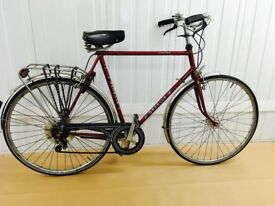 Gazelle Grand Sport 10 speed Rare Dutch Touring/City Bike 58 cm Frame Original Features
