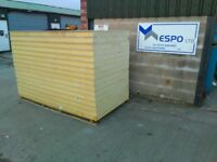 1 x PALLET OF 16 X 80 MM + 12.5 MM INSULATED THERMAL PLASTERBOARD Recticel BOARD