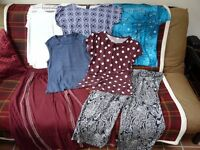 Bundle of excellent condition ladies holiday / summer clothes all size 12 - 14