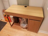 IKEA MICKE Desk, Oak Effect (105x50cm)