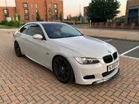 2008 08, E92 BMW 330i MSPORT M3 REPLICA, 126K, WRAPPED LIGHT NARDO GREY, FSH, F1 PADDLES