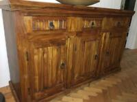 Beautiful rosewood indian dresser
