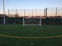 6 aside football League - Fantastic New 4G Pitch - Only £40 per game