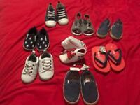 Bundle of 10 pairs of shoes