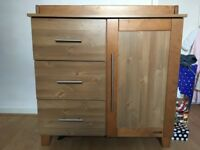 Solid Wood Changing Unit (KiddyStyle)