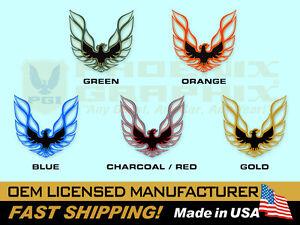 1973 1974 1975 1976 1977 1978 Pontiac Firebird Trans Am Sail Panel Bird Decals