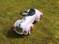 Child's Sit-on Car in good condition