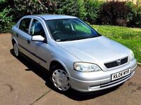 ONLY 57,000 MILES - VAUXHALL ASTRA 1.4 LS - LONG MOT - FULL SERIVCE HISTORY - EXCELLENT CONDITION