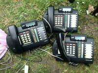 Meridian Norstar telephone system phones