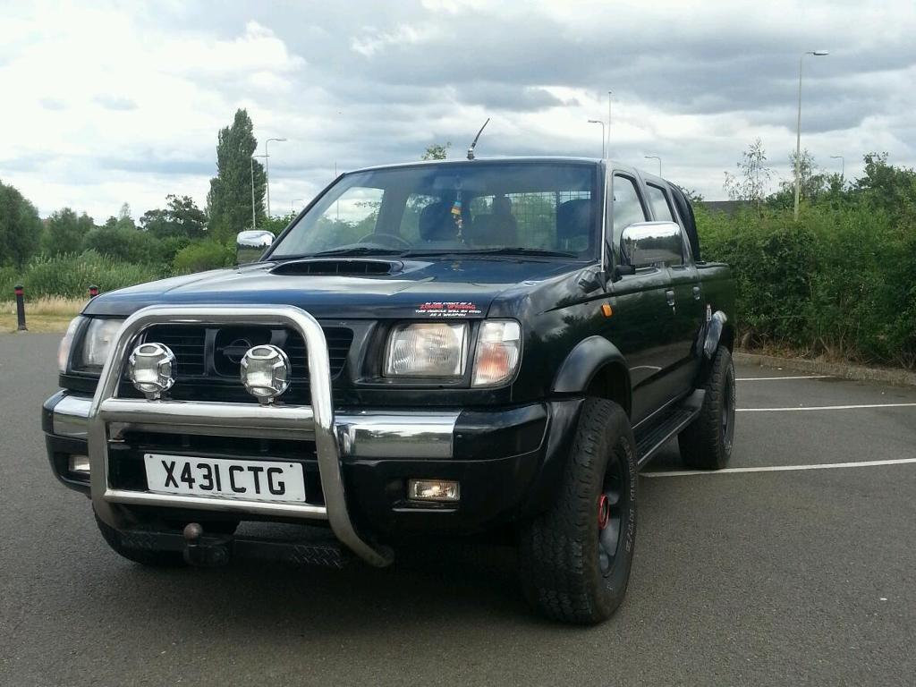 nissan navara d22 double cab pickup in banbury oxfordshire gumtree. Black Bedroom Furniture Sets. Home Design Ideas