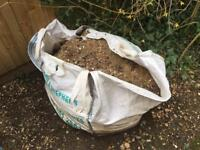 Builders tonne bag of 20mm ballast . Patio, foundations