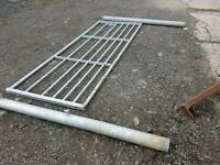 Brand new 10ft field gate with galvanised posts suit farm stables etc tractor