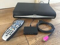 sky hd box 500gb With Remote, HDMI Cable and Wifi Box.