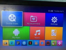 New android box 2gb memory 7.1 hd 4k top apps