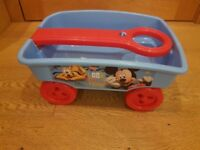 Mickey Mouse Toy Trailer. Like brand new. Smoke and pet free home.
