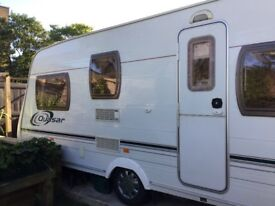 Selling our much loved 2004 Lunar Quasar 525 Touring Caravan - very good condition