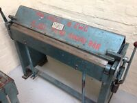 Keetona Sheet Metal Bender Folder Bending Brake Floor Mounted 41""