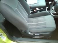 ford fiesta style 80 1.2 2009 09 plate metalic paint
