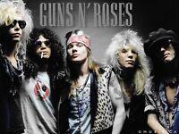 Guns n roses 2 standing tickets London