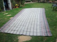 "Ground Sheet * breathable* large size, can be cut to suit, 494cm (16'4"") x 240cm (8')"