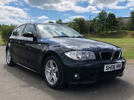 BMW 1 Series, incl. Thule Roof Bars & Detachable Tow Bar